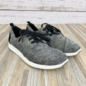 Toms Women's Del Ray Lace Up Sneakers Size 7.5